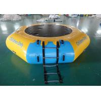 China Commercial Water Games Inflatable Crocodile Water Trampoline With 0.9mm Pvc Tarpaulin on sale