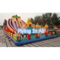 Wholesale 12*6m Large Outdoor Inflatable Slide Castle or Children from china suppliers