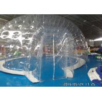 China Commercial Transparent Clear Bubble Tent Outdoor Inflatable Camping Tent With Rooms on sale