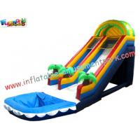 Wholesale OEM Commercial Large Outdoor Inflatable Water Slides Fun Games for Kids Outside from china suppliers