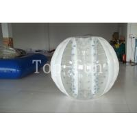 Wholesale Multi-color 1.0mm PVC / TPU huge Inflatable Bumper Balls For Seaside / Playground from china suppliers