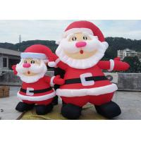 Wholesale Giant Custom Inflatable Christmas Decorations Air Inflated Christmas Man from china suppliers