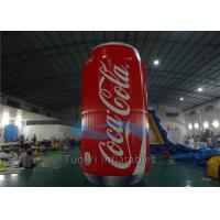 Wholesale Giant Inflatable Coke Can Customized with PVC Tarpaulin Material from china suppliers