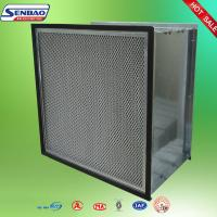 Wholesale Dust Holding Capacity Multilayer Synthetic Pocket Air Filter Material , Disposable from china suppliers