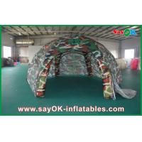 Wholesale Waterproof Outdoor Inflatable Air Tent  , Spider Military Inflatable Dome Tent from china suppliers