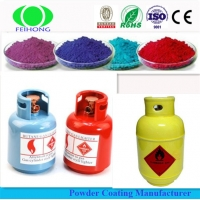 Buy cheap Electrostatic Glossy Smooth Powder Coating Polyester Resin Lead Free RAL 1018 from wholesalers