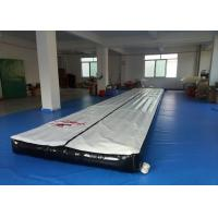 Wholesale Rental Indoor Adult Sports Gym Inflatable Tumble Track Fire Resistance from china suppliers