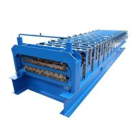 Buy cheap Color Corrugated Shape Roll Forming Machine Sheet Metal Roll Forming Machine from wholesalers
