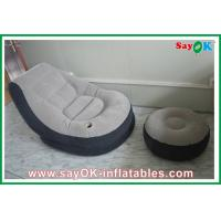 Wholesale Portable Custom Inflatable Products , Air Pump Planetarium Dome PVC Inflatable Chair from china suppliers