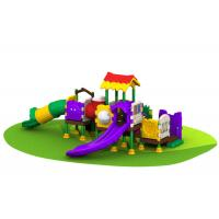 China All Plastic Outdoor Climbing Equipment / Plastic Outdoor Toys With Shorter Platform on sale