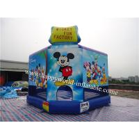 Wholesale mickey minnie mouse , mickey mouse jumping castle , inflatable castle mickey mouse from china suppliers