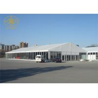 Wholesale Waterproof Trade Show Tent High Strength PVC Membrane Architecture Anti - Rust from china suppliers