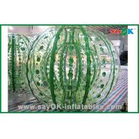 China Customized Giant Durable Inflatable Zorbing Ball For Hamster Ball Game 2.3x1.6m on sale