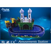 Kids Game Coin Operated Arcade Machines Indoor Entertainment Equipment With Train Ride for sale