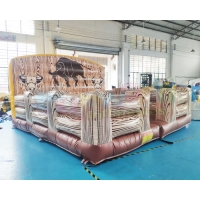 Wholesale Interactive Fighting Inflatable Sports Games Mechanical Rodeo Bull from china suppliers