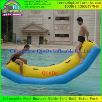 Wholesale New Product Single Tube Inflatable Water Seesaw With CE Certificate Water Sport Toys from china suppliers