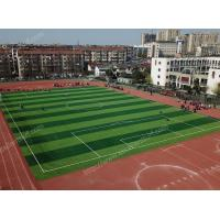 Buy cheap Durable No Dazzling Outdoor Sports Artificial Grass With UV Resistant from wholesalers