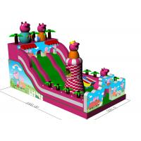 Wholesale Giant Kids Inflatable Bouncer Combo Peppa Pig Inflatable Amusement Park from china suppliers