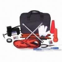Wholesale Auto Emergency Tool Kit with 1 Piece Electric Tape and Jumper Cable from china suppliers