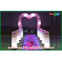 Wholesale Wedding Led Arch Decoration Inflatable Shine Lighting Customized Size from china suppliers
