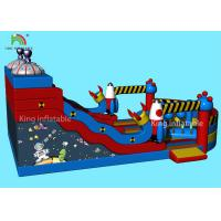 Wholesale Customized Alien Space Theme Inflatable Dry Slide Kids Jumping Castle For Party from china suppliers