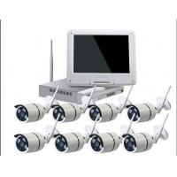 China Surveillance WIFI NVR KIT 10.1 Inch HD Wifi Wireless Security Recorder Camera on sale