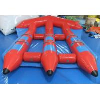 China Funny Red Inflatable Water Toys , PVC InflatableFlyfish for Water Sport Game on sale
