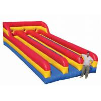 Wholesale Three Lanes Inflatable Sports Toys Bungee Run Abrasion Resistance For Kids And Adults from china suppliers