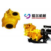 Wholesale High Stability Mining Slurry Pump , Cement Slurry Pump Easy Installation from china suppliers