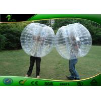 Wholesale Funny Heat Sealed Inflatable Human Bumper Bubble Ball For Water Park from china suppliers