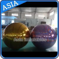 China Inflatable Helium Advertising Mirror Balloon / Giant Inflatable Mirror Ball Ground on sale