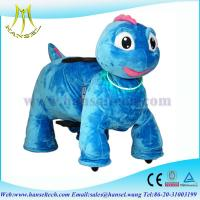 Wholesale Hansel animales electricos montables stuffed ride electric animal car from china suppliers