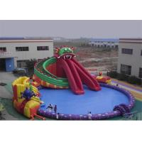 Wholesale Funny Kids Inflatable Water Park , Inflatable Floating Water Park Playground from china suppliers