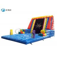 China Sticky Wall Inflatable Sports Games PVC Tarpualin Paste Wall Inflatable Sports on sale