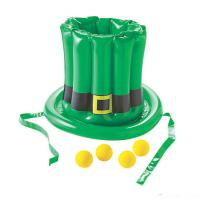 Quality Customized party inflatable hat toss game with balls for sale