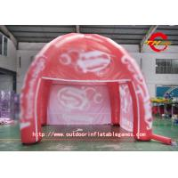 Wholesale Dome Red PVC Inflatable House Tent High - Definition Cartoon Pattern from china suppliers