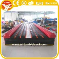 Wholesale tumble track inflatable air mat for gymnastics from china suppliers
