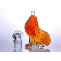 Quality Best Selling High Quality Super Clear Cock Shaped Glass Wine Bottle for sale