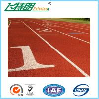 Quality Running Track Flooring / Rubberized Outdoor Flooring 8 Lines High School for sale