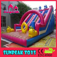 China SL-1664 New Inflatable Bouncy Slide,Colorful Inflatable Party Slide For Rental on sale