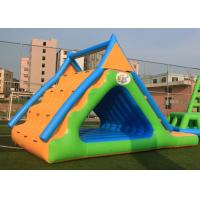Wholesale Small Triangle Inflatable Water Games Floatin Toys 0.9mm Plato PVC Tarpaulin from china suppliers