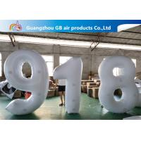 Wholesale Outdoor Advertising Inflatable Letters And Number Airtight For Sale from china suppliers