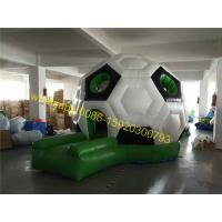 Buy cheap soccer dome bouncy castle house from wholesalers