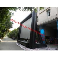 China pvc white matt projection screen fabrices inflatable movie screen outdoor movie screen on sale