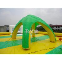 Colorful Inflatable Event Wedding Green Beach House Tent 0.6mm PVC tarpaulin