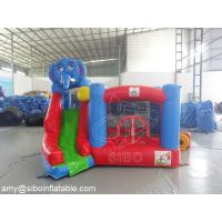 Wholesale Commercial Kids Elephant Inflatable Slide Bouncer For Amusement Park Equipment from china suppliers