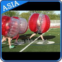 Wholesale 100% PVC Inflatable Bumper Ball ,  Half Red Bubble Soccer , Loopy Balls , Soccer Bubble Balls from china suppliers