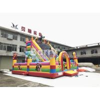 Wholesale Cartoon Inflatable Bounce House And Slide Combo With Blower For School And Daycare from china suppliers