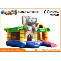 Inflatable Animal Bouncy Castle With Slide For Kids And Adults