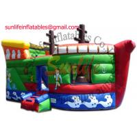 Wholesale inflatable 0.55mm pvc tarpaulin jumping castle BO106 from china suppliers